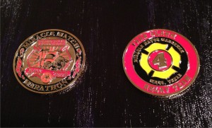 firefighter relay challenge coin