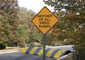 speedbumps